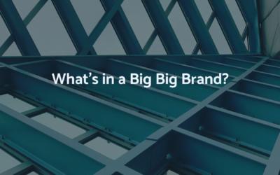 Radical Restart: Re-thinking the Big Big Brand